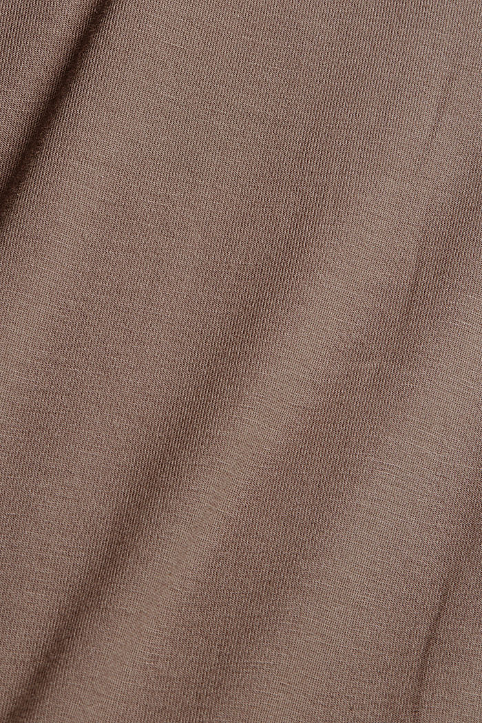 Jersey nachthemd van LENZING™ ECOVERO™, TAUPE, detail image number 4