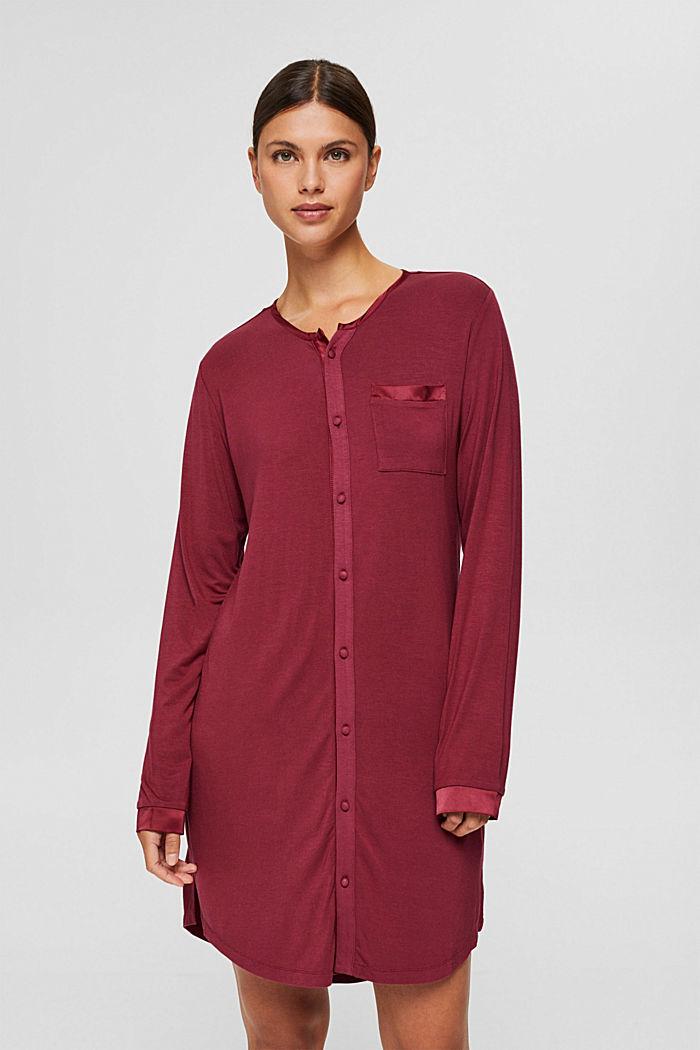 Jersey nachthemd van LENZING™ ECOVERO™