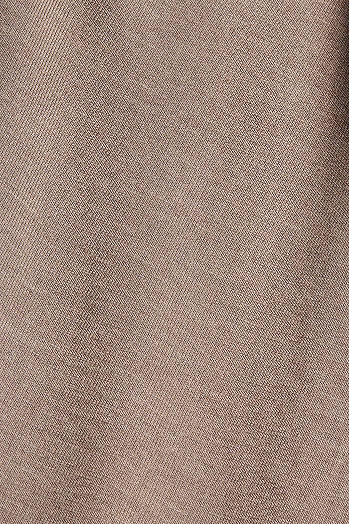 Pyjamahose mit Satin, LENZING™ ECOVERO™, TAUPE, detail image number 4