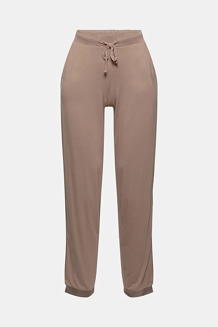 Pantaloni da pigiama con raso, LENZING™ ECOVERO™