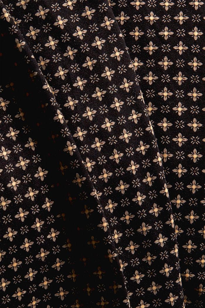 Jersey-Pyjama aus 100% Organic Cotton, BLACK, detail image number 4