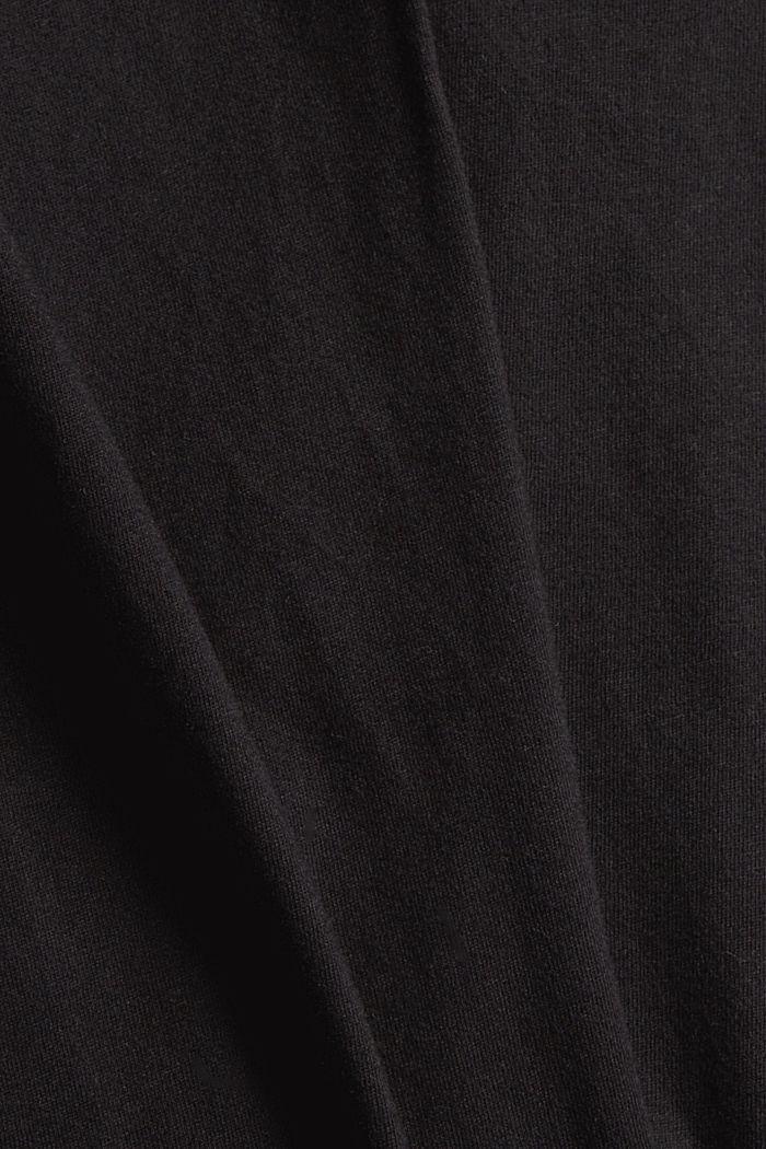 Pyjama en jersey, 100% coton biologique, BLACK, detail image number 3