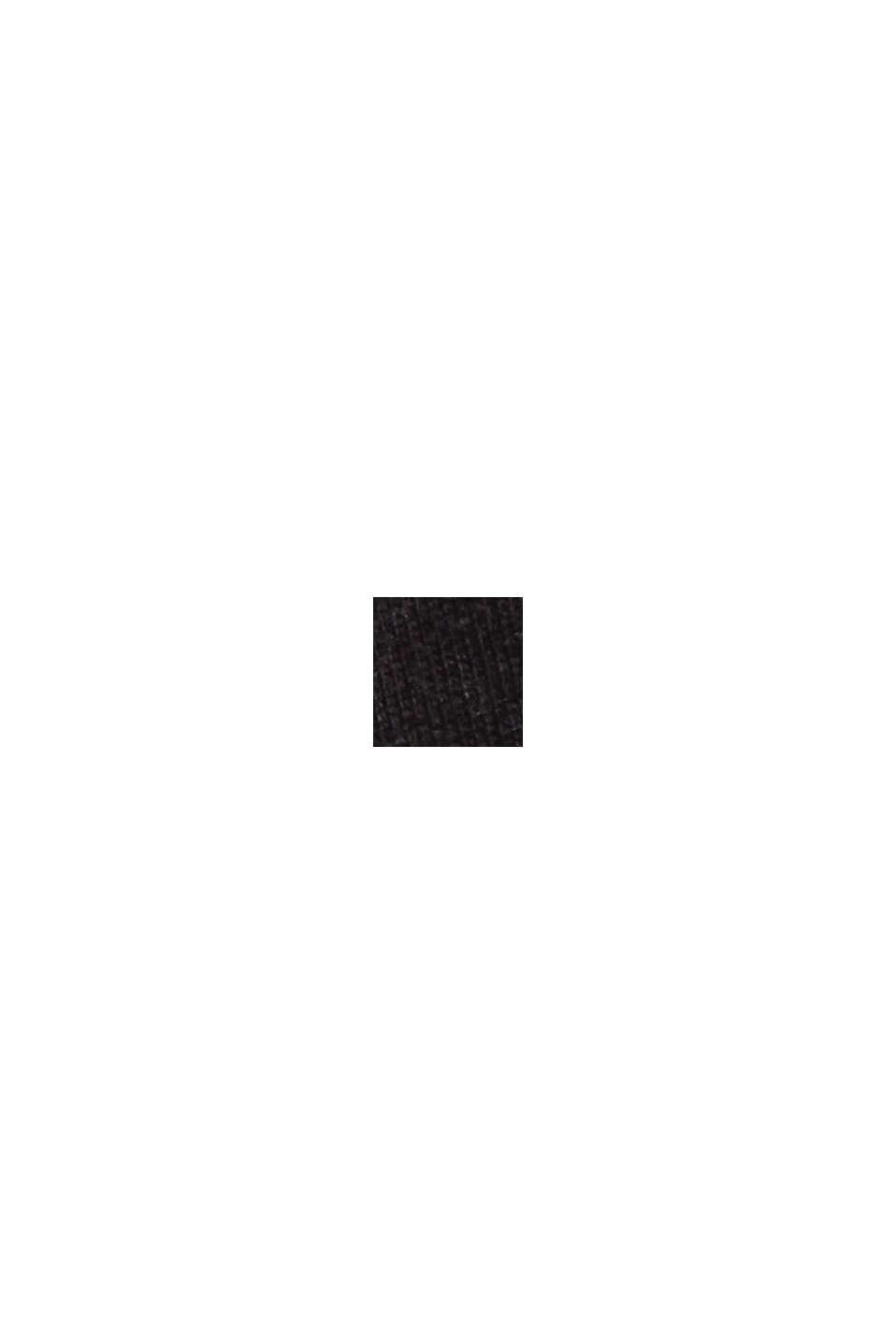 Jersey pyjama van 100% biologisch katoen, BLACK, swatch