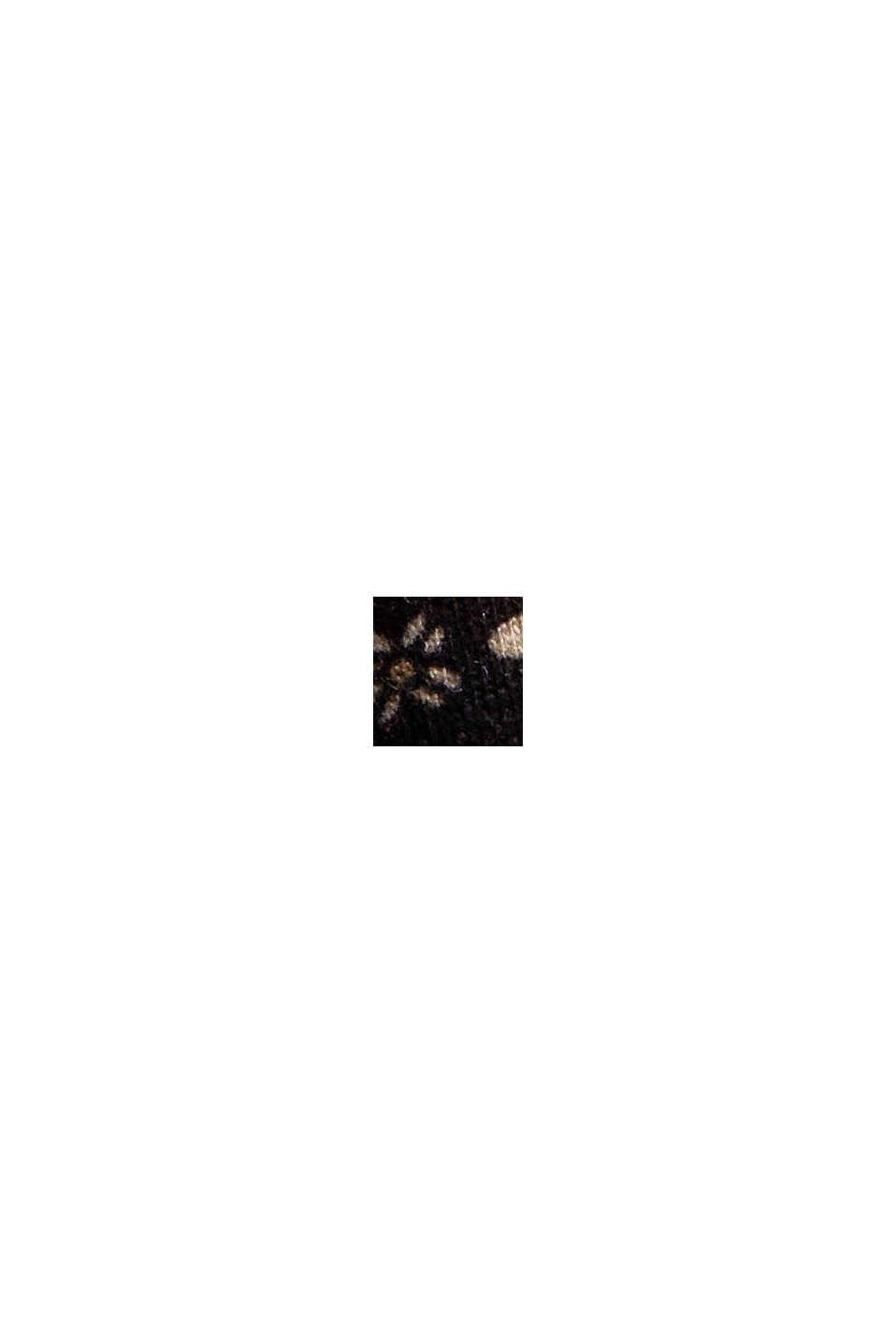 Jersey nachthemd van 100% biologisch katoen, BLACK, swatch