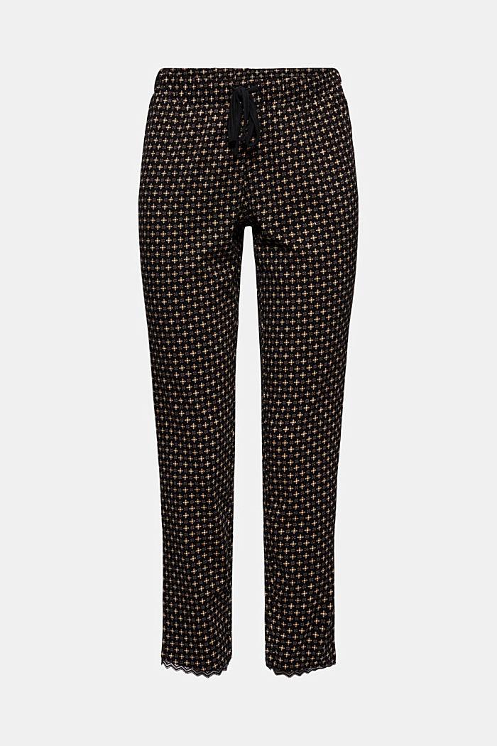 Jersey pyjamabroek van 100% biologisch katoen
