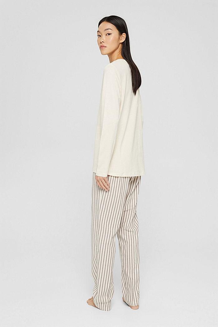 Pyjamas, TAUPE, detail image number 2
