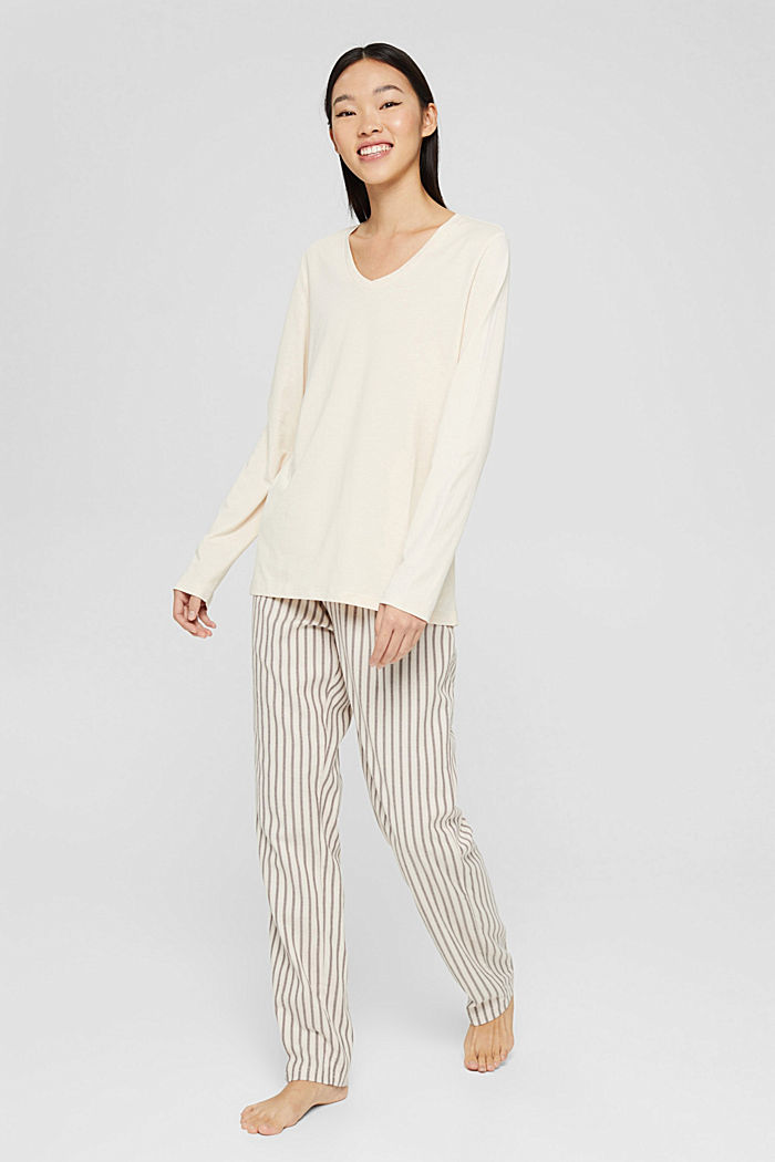 Pyjamas, TAUPE, detail image number 0