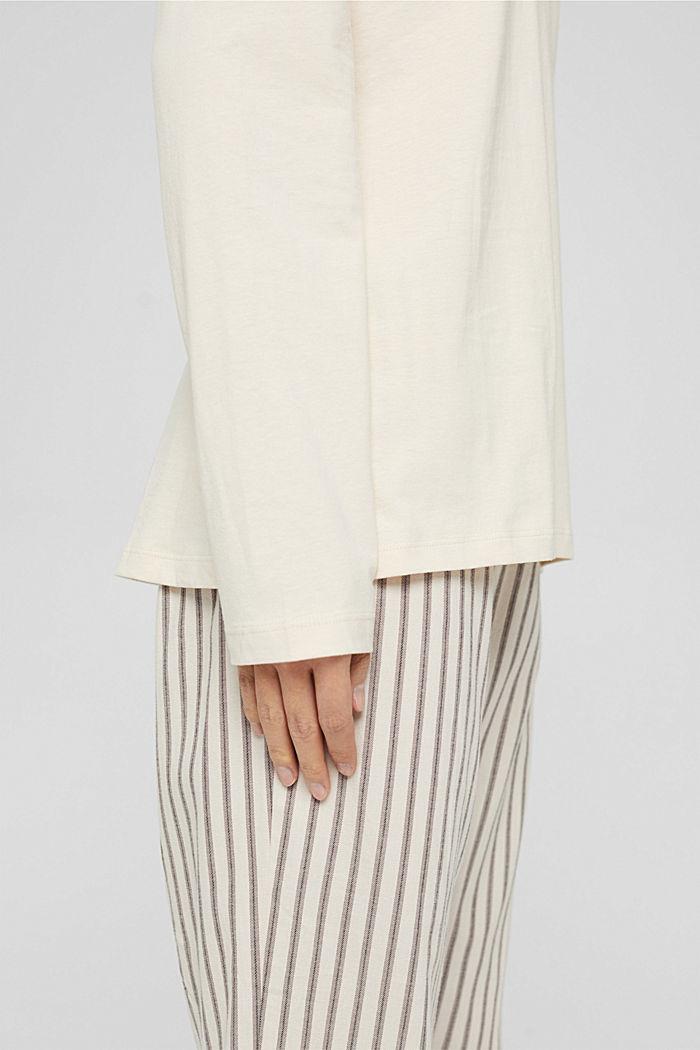 Pyjamas, TAUPE, detail image number 4