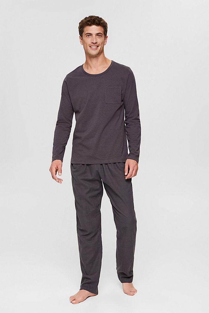 Pyjamas, DARK GREY, detail image number 0