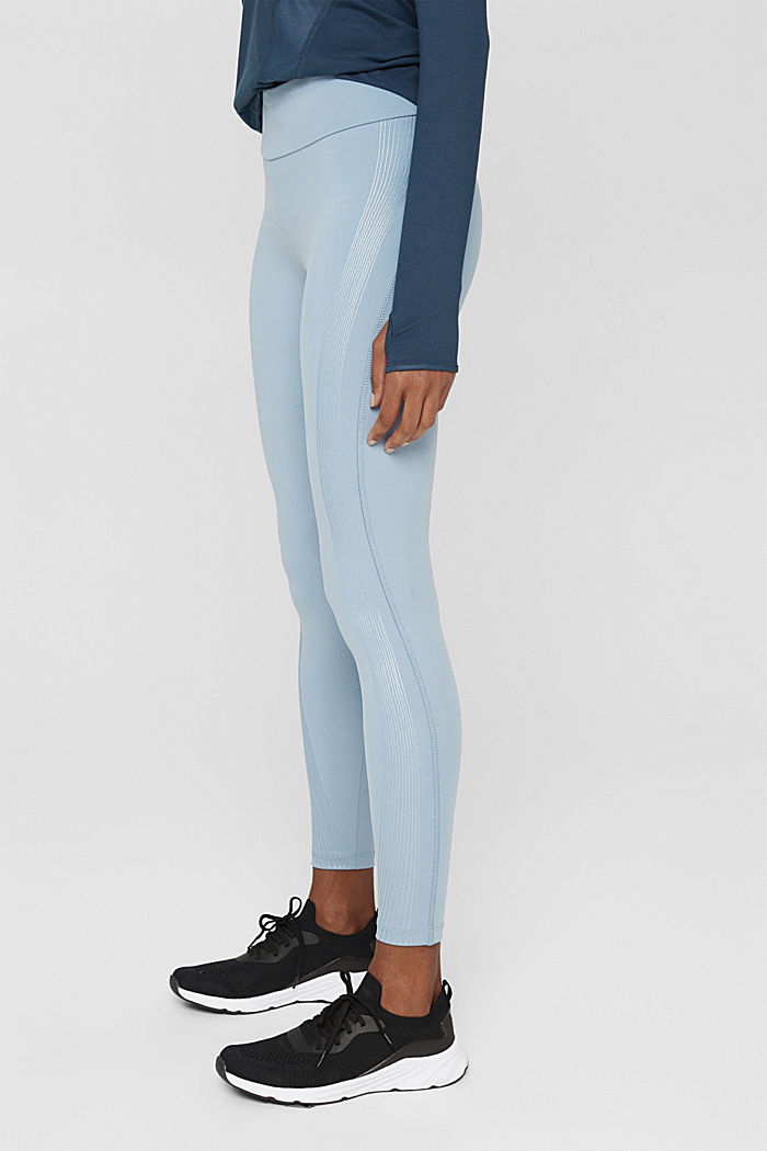 Pants knitted, PASTEL BLUE, detail image number 0