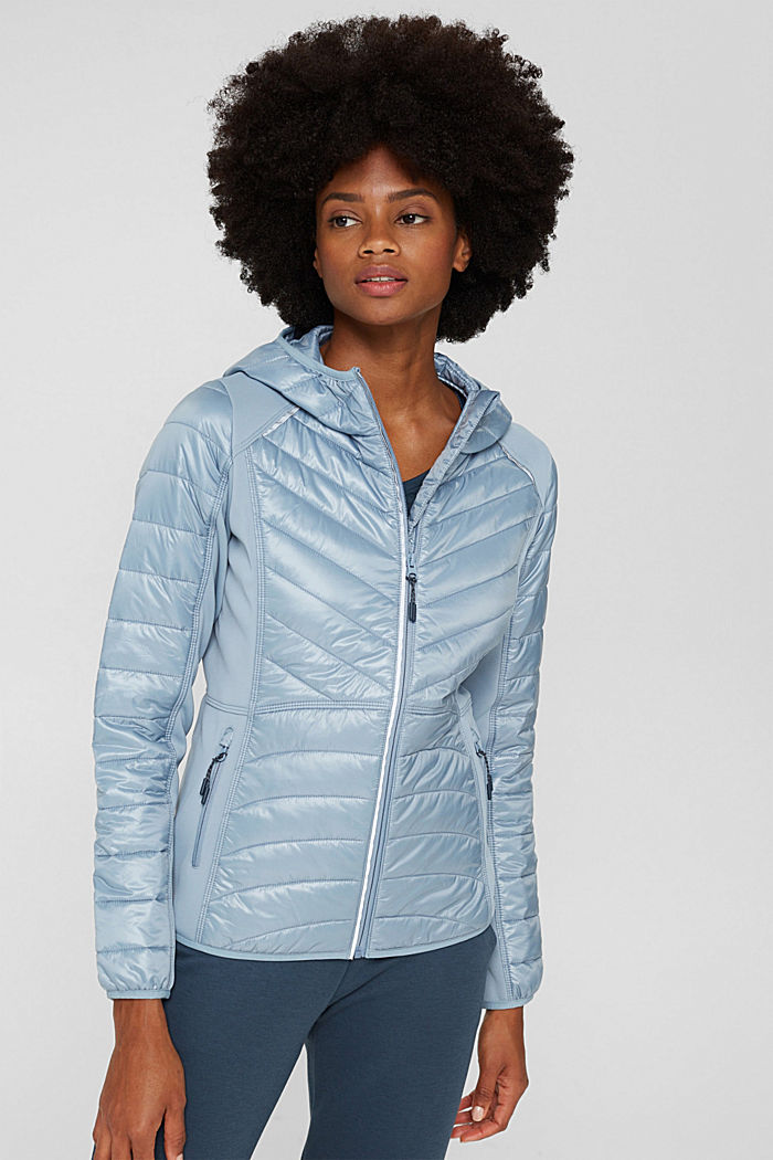 Jackets outdoor woven, PASTEL BLUE, detail image number 0
