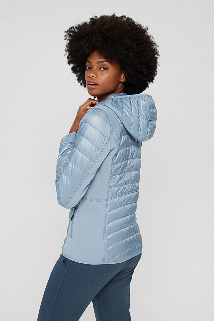 Jackets outdoor woven, PASTEL BLUE, detail image number 3