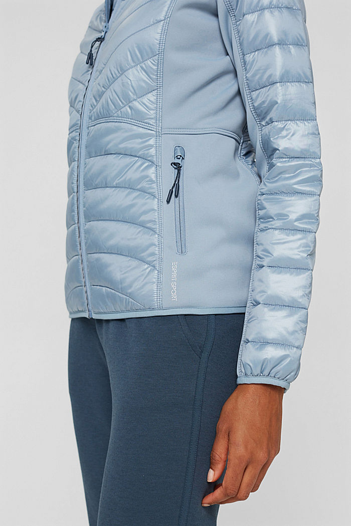 Jackets outdoor woven, PASTEL BLUE, detail image number 5