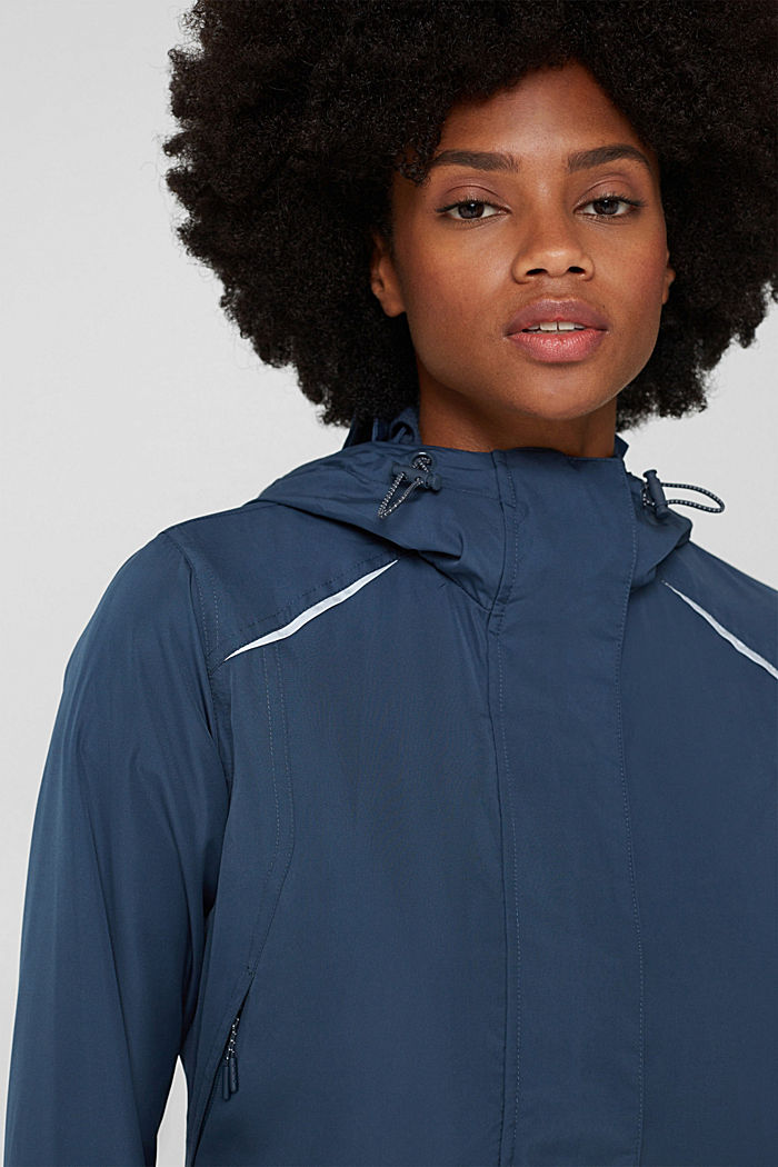 Jackets outdoor woven, NAVY, detail image number 8