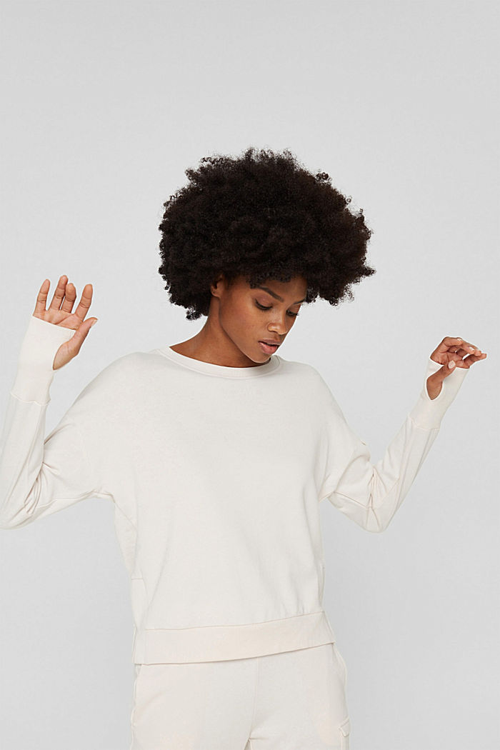 Sweatshirts, PASTEL PINK, detail image number 0