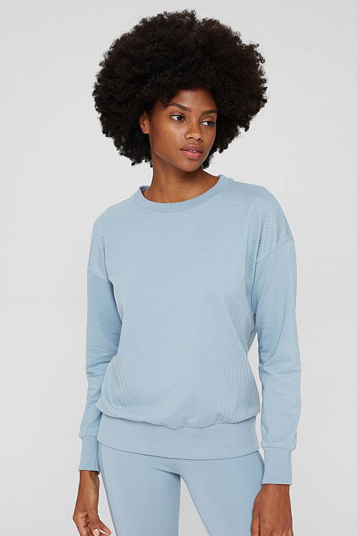 Sweatshirts, PASTEL BLUE, detail image number 0