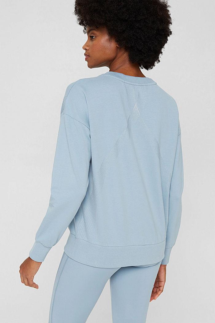 Sweatshirts, PASTEL BLUE, detail image number 3