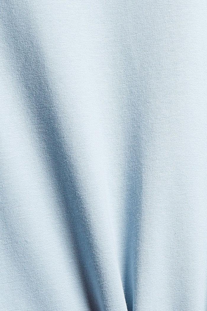 Sweatshirts, PASTEL BLUE, detail image number 4