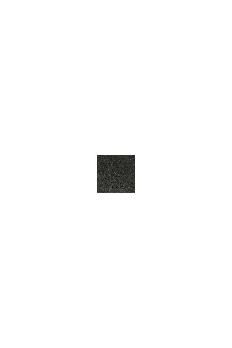 Bottes à lacets en similicuir, BLACK, swatch