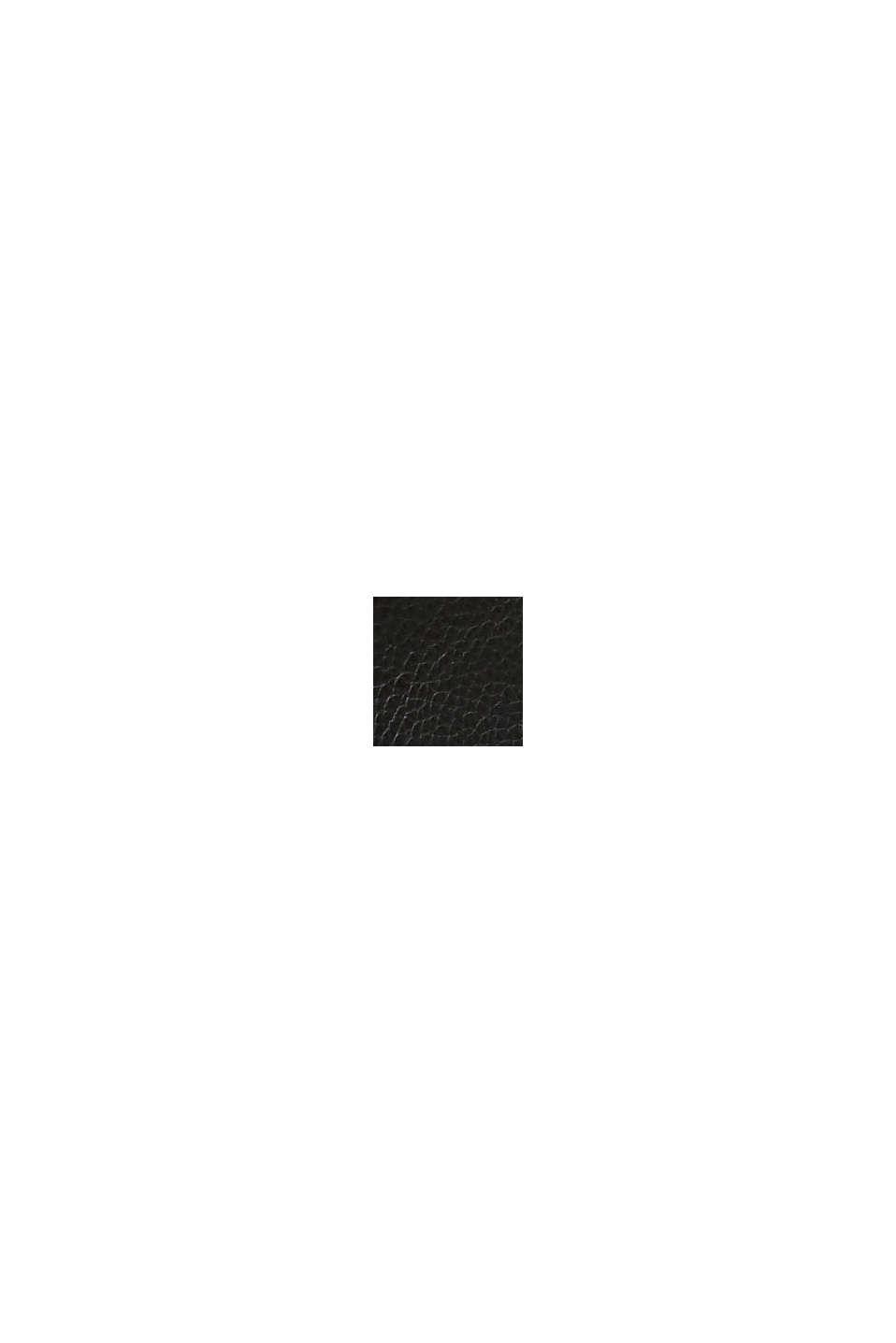 Bottes à lacets en similicuir doublé de fourrure, BLACK, swatch