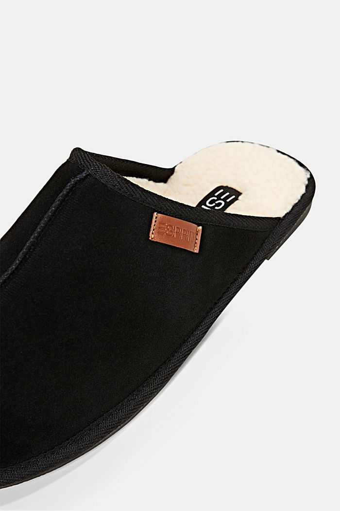 Various Shoes leather, BLACK, detail image number 4