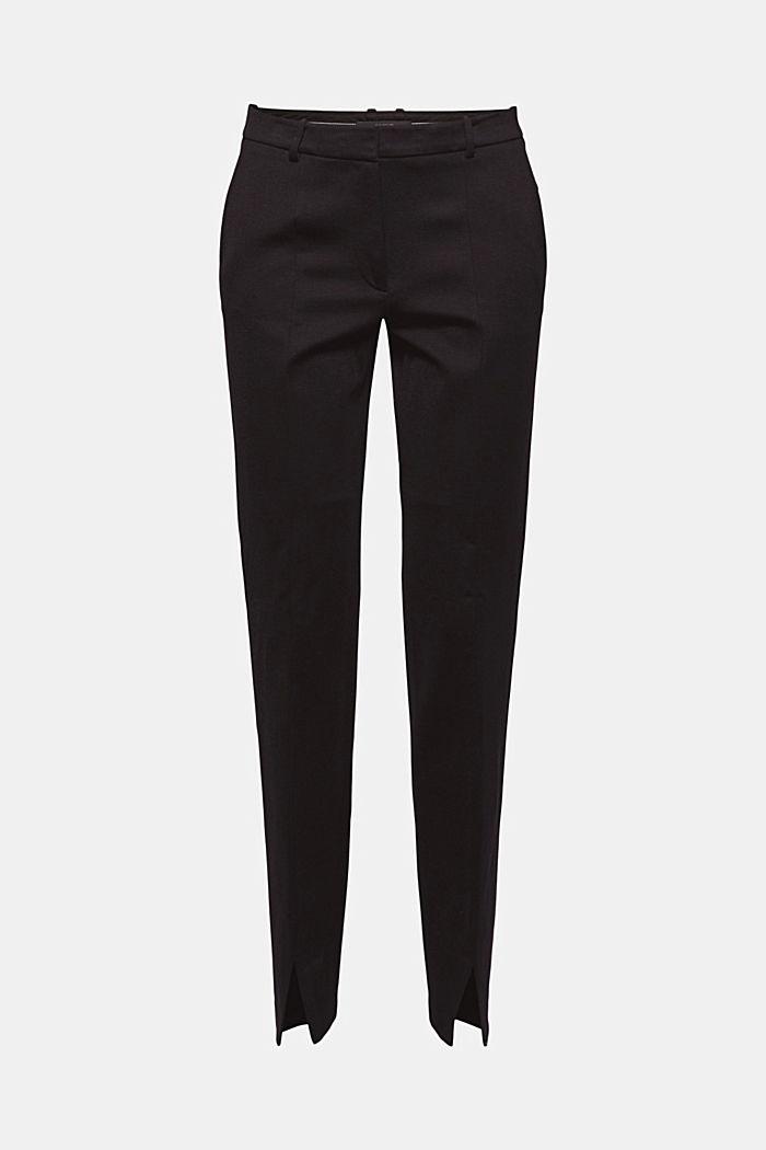 Pantalon en jersey punto fendu à la base