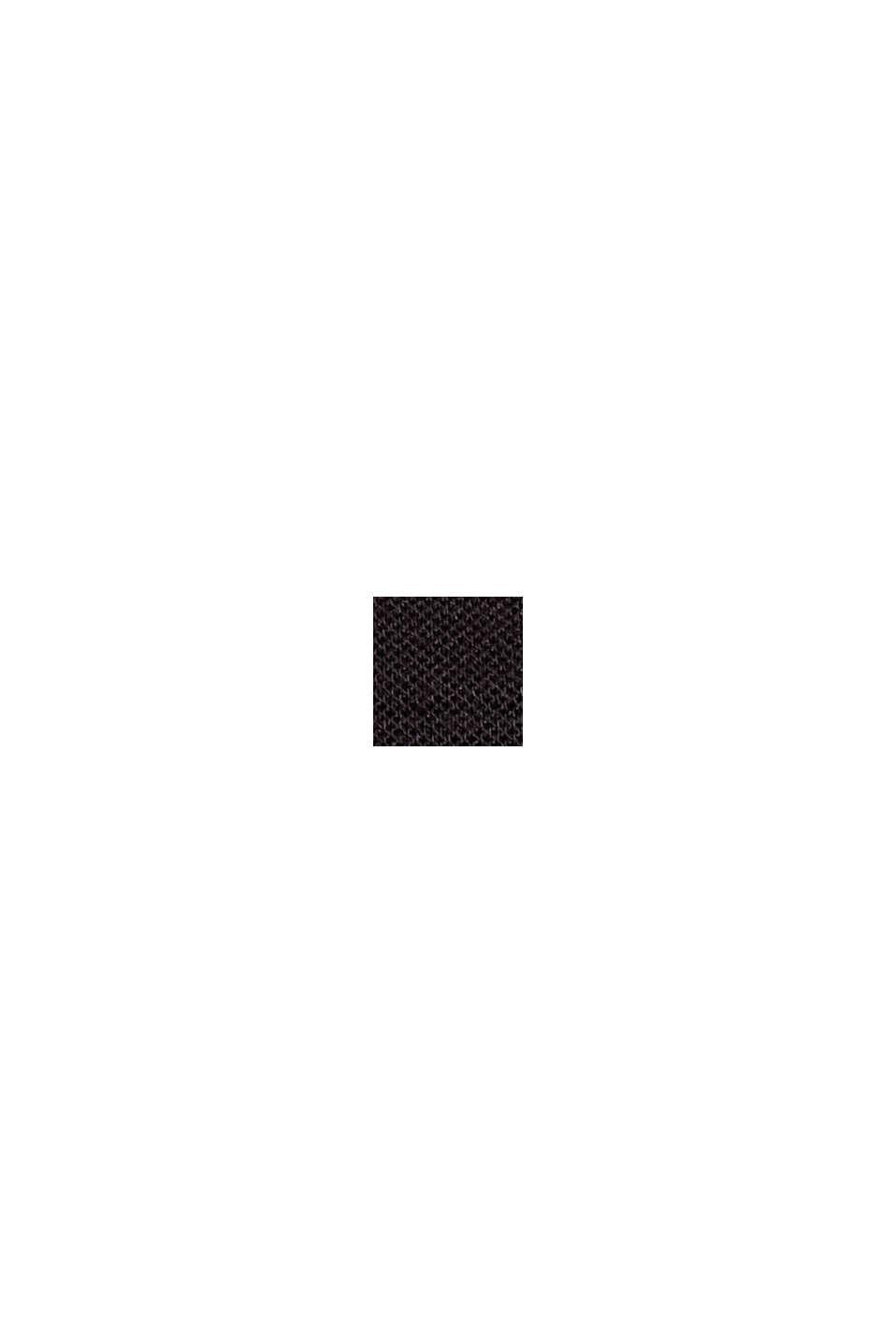 Pantalon en jersey punto fendu à la base, BLACK, swatch