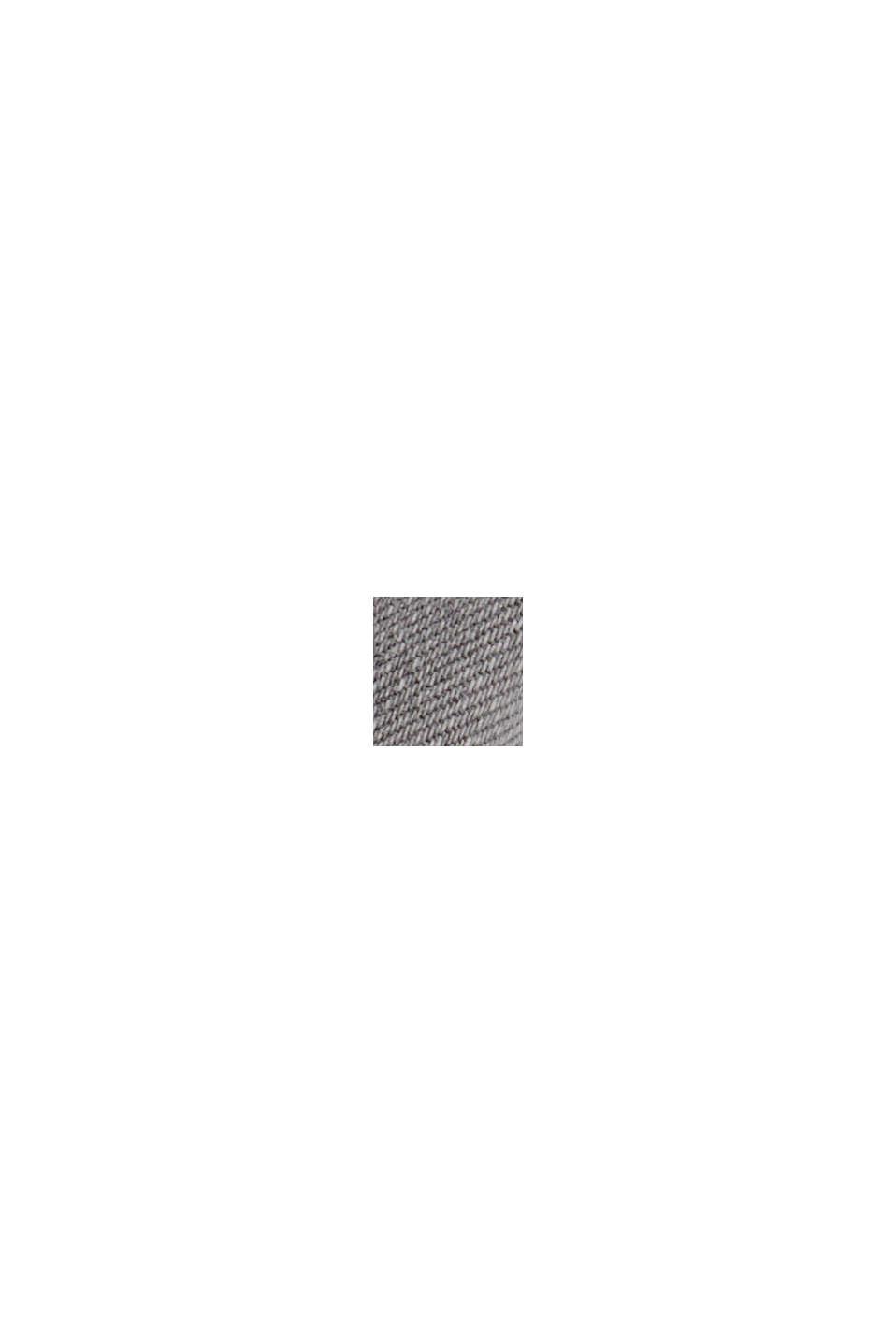 Dżinsy z superstreczu z mieszanki materiałów z bawełną ekologiczną, GREY MEDIUM WASHED, swatch