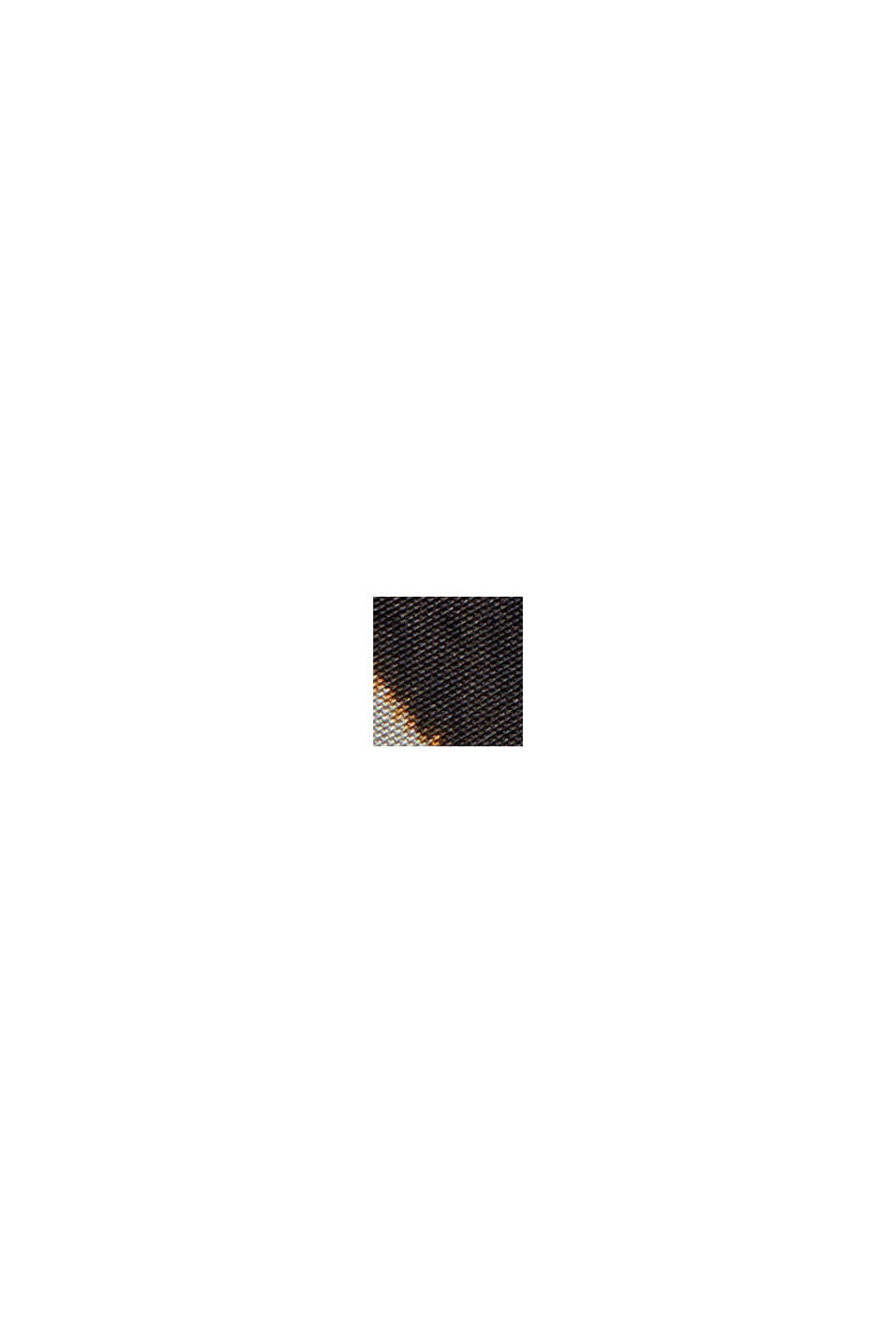 Robe-chemise en satin à imprimé cachemire, BROWN, swatch