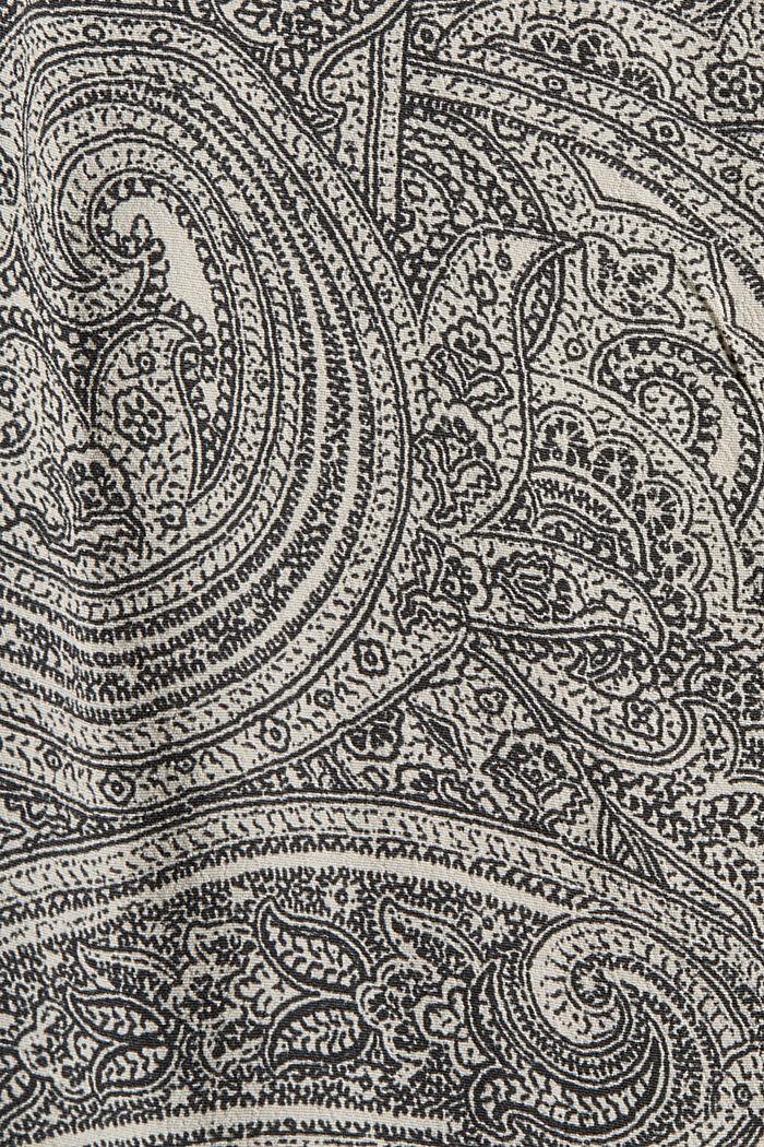 Bluse mit Statement-Ärmeln und Paisley-Print, ICE, detail image number 4