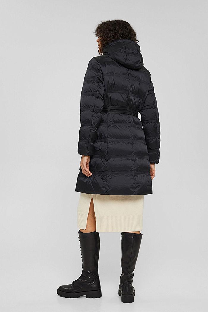 Coats woven regular, BLACK, detail image number 3