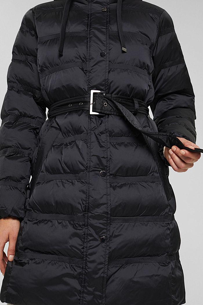 Coats woven regular, BLACK, detail image number 2