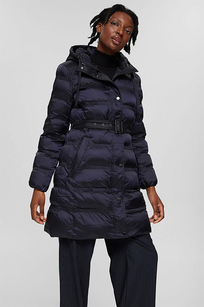 Coats woven regular, NAVY, detail image number 0