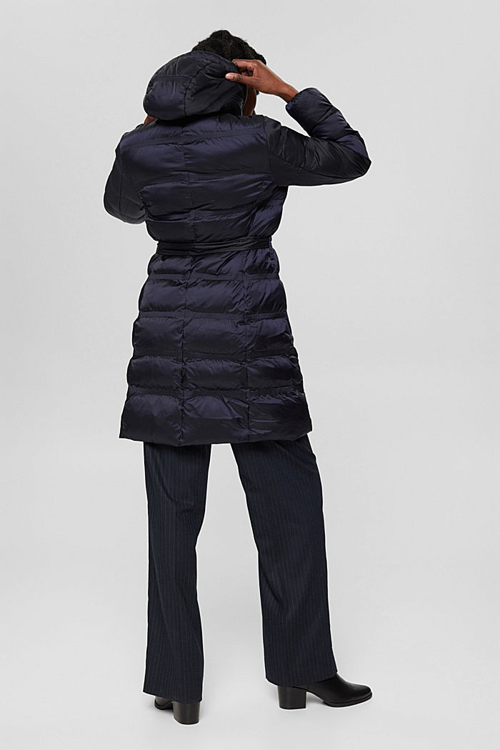 Coats woven regular, NAVY, detail image number 3