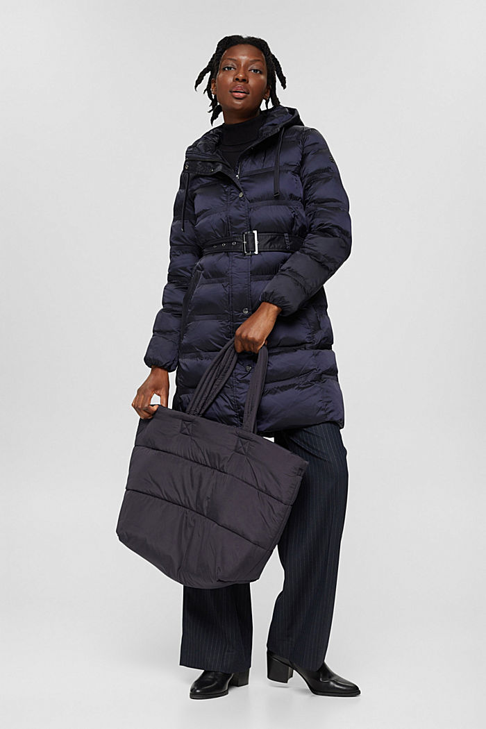 Coats woven regular, NAVY, detail image number 1