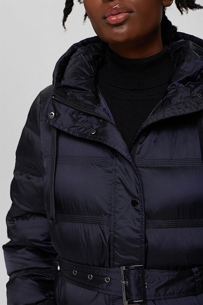 Coats woven regular, NAVY, detail image number 2