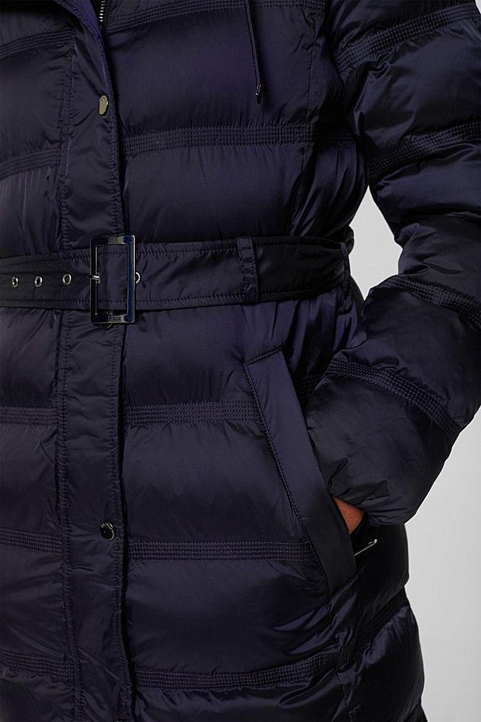 Coats woven regular, NAVY, detail image number 5