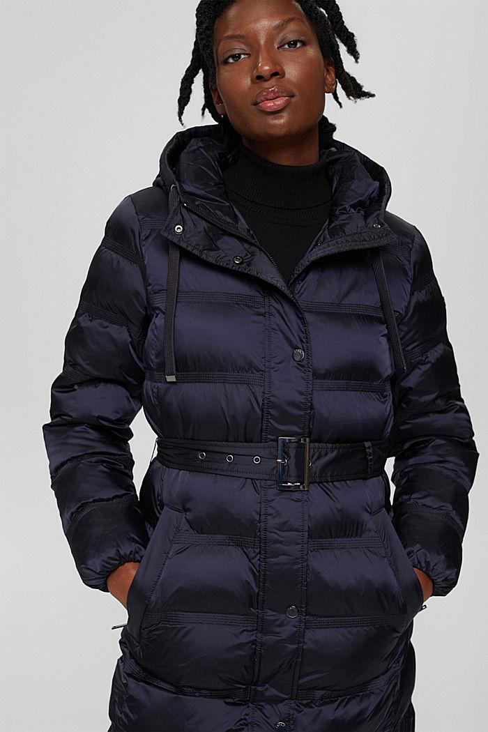 Coats woven regular, NAVY, detail image number 6