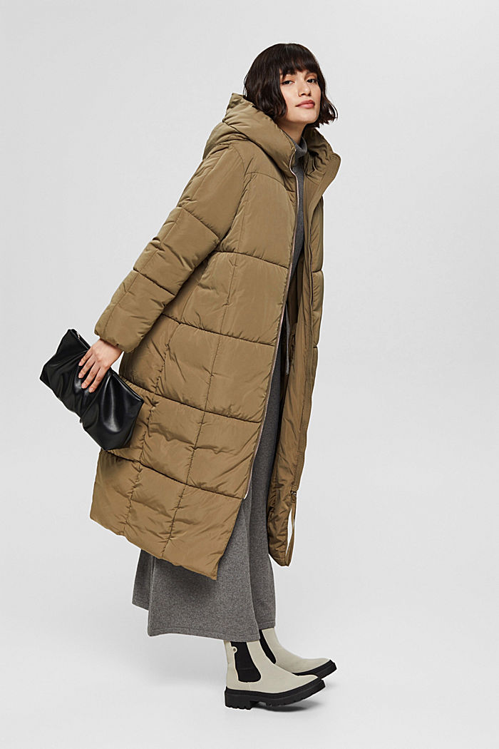 Reciclado: abrigo acolchado con Thinsulate™ 3M™