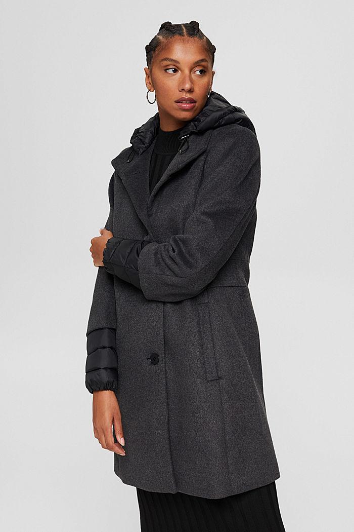 Coats woven, GUNMETAL, detail image number 0