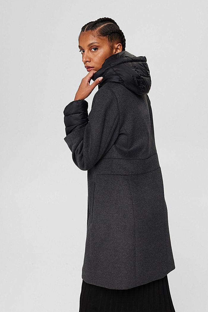 Coats woven, GUNMETAL, detail image number 3