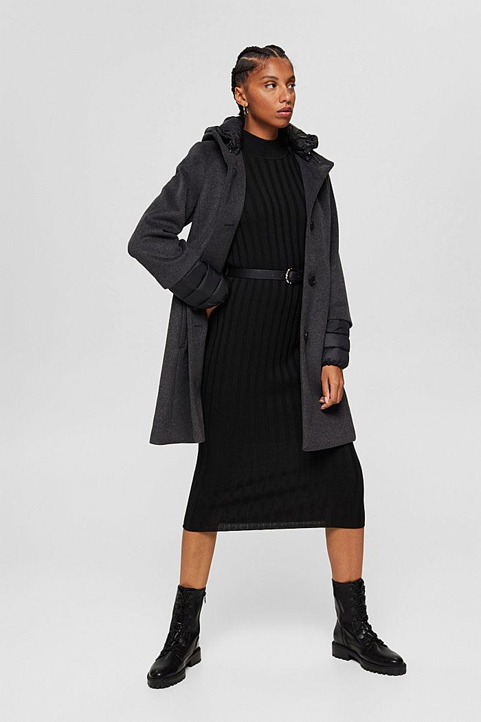 Coats woven, GUNMETAL, detail image number 5