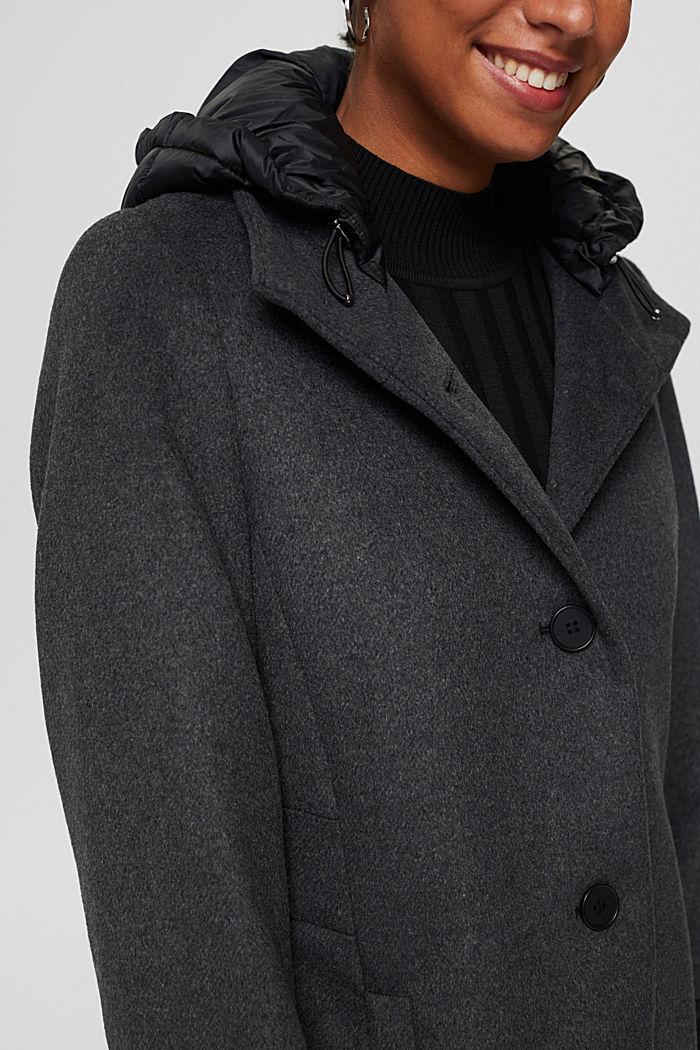 Coats woven, GUNMETAL, detail image number 2