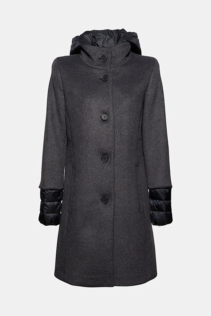 Coats woven, GUNMETAL, detail image number 7