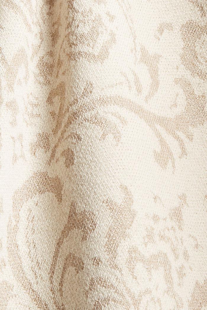 Rollkragenpullover mit Ornamentmuster, ICE, detail image number 4