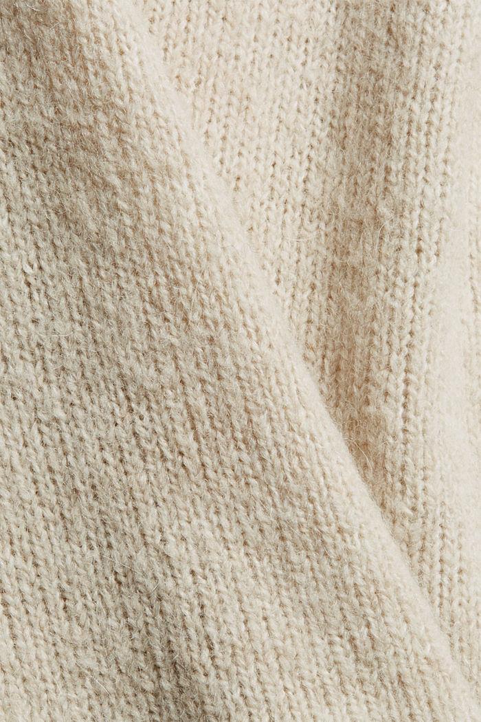 Met wol/alpaca: zachte trui met boothals, ICE, detail image number 4