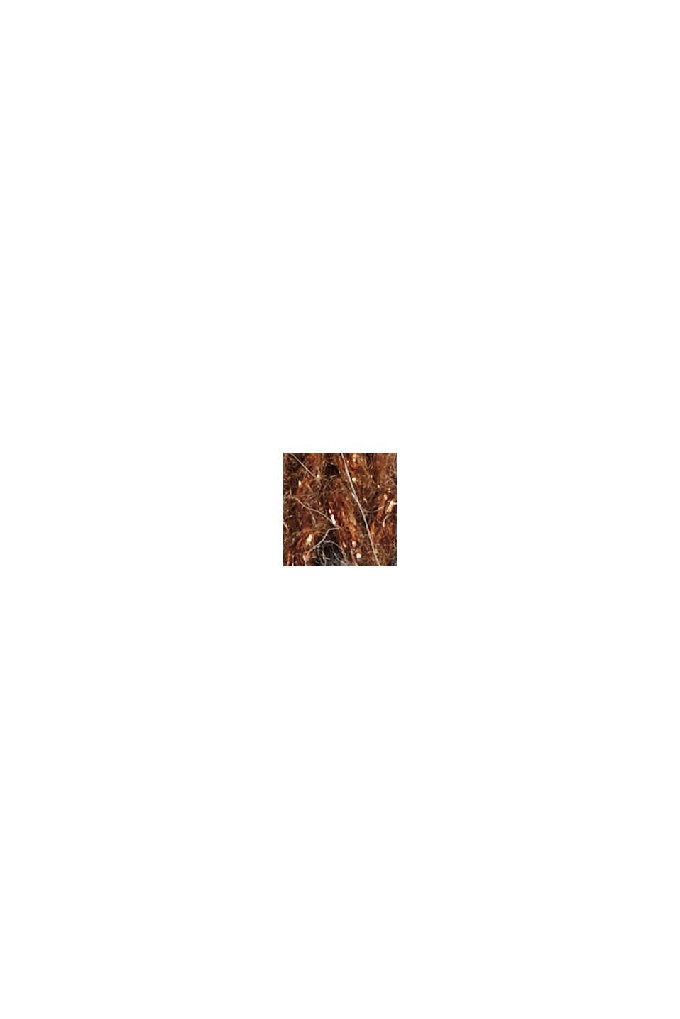 Mit Wolle/Alpaka: Jacquard-Pullover, CARAMEL, swatch