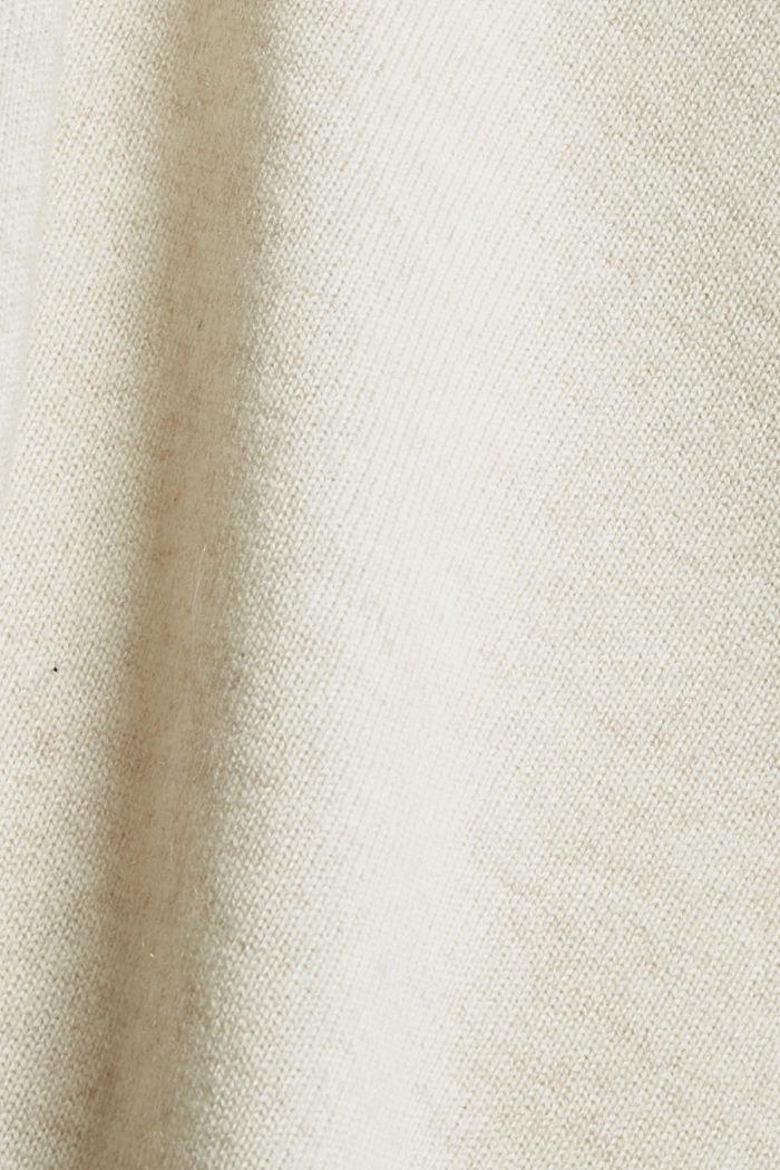 Aus Wolle/Kaschmir: Pullover mit Ballonärmeln, ICE, detail image number 4