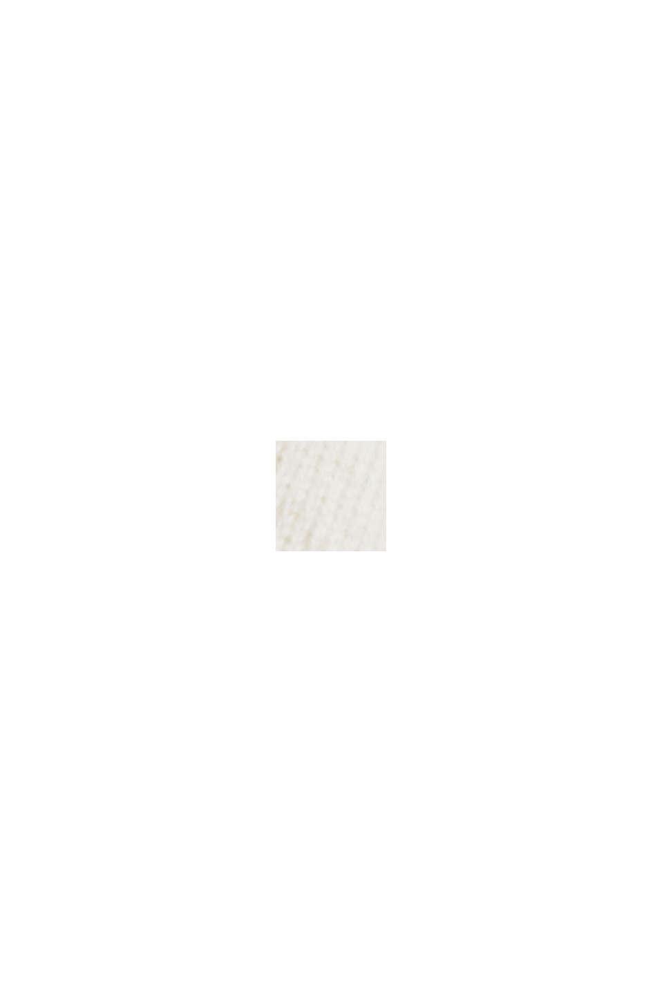 Aus Wolle/Kaschmir: Pullover mit Ballonärmeln, ICE, swatch