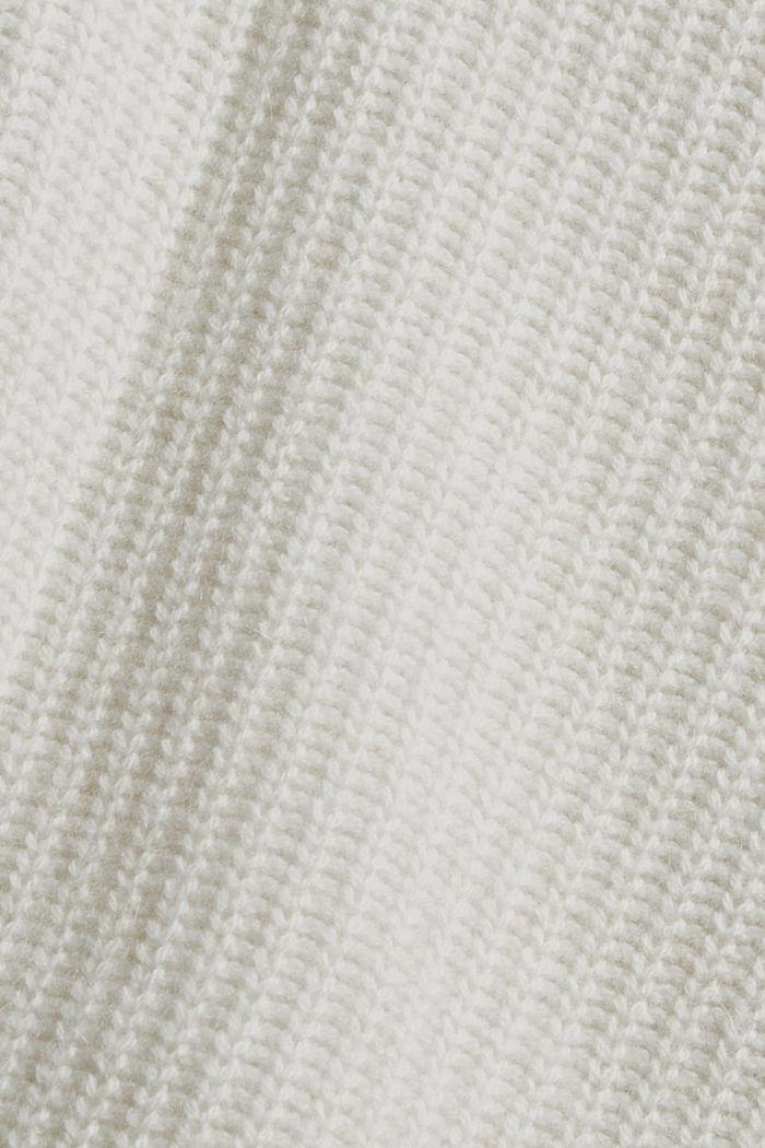 En laine/cachemire: débardeur à col droit, ICE, detail image number 4